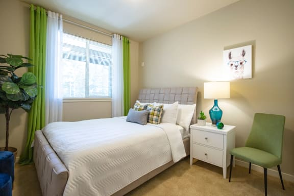 Large Bedroom at at  Discovery Heights in Issaquah, WA