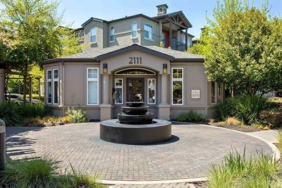 Leasing Office at Renaissance Apartments in Santa Rosa, California