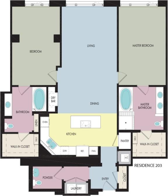 Floor Plan  Rodeo