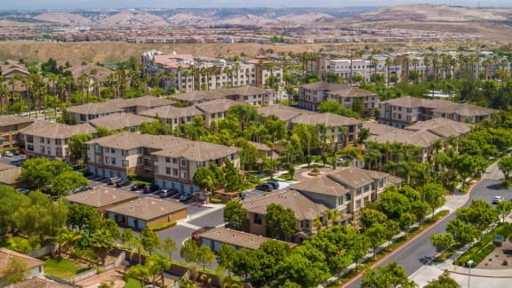 Beautiful Aerial View at Terra Vista, California, 91913