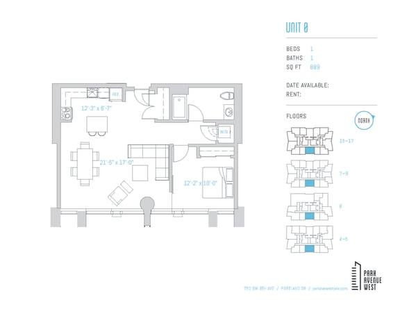 Floor Plan  Unit O