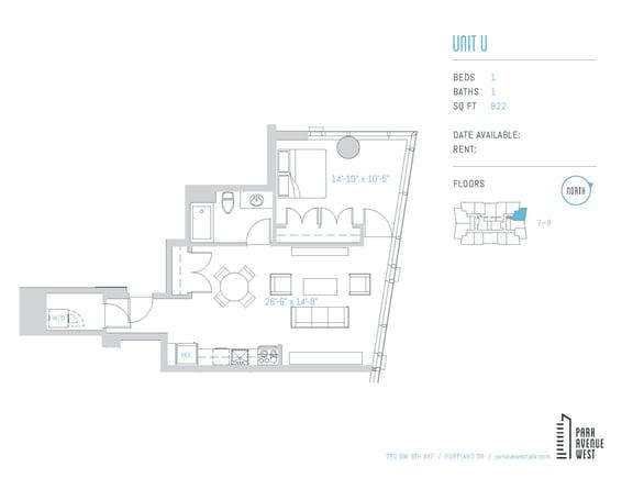 Floor Plan  Unit U