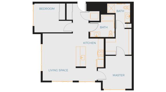 Floor Plan  Whitcomb