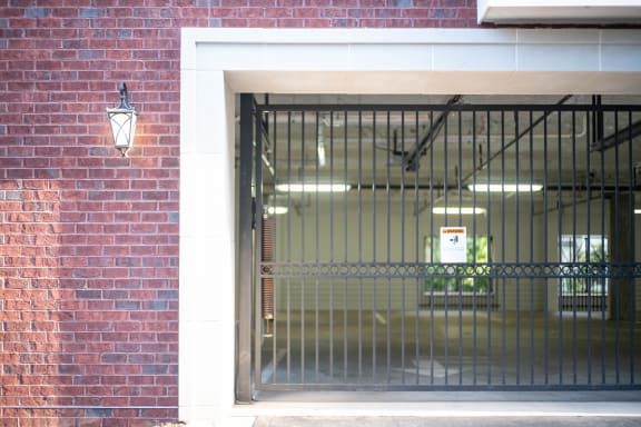Gated Garage Parking ¦ 511 Queens Apartments Charlotte, NC