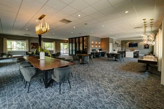Lounge Room at Foxboro Apartments, Illinois, 60090