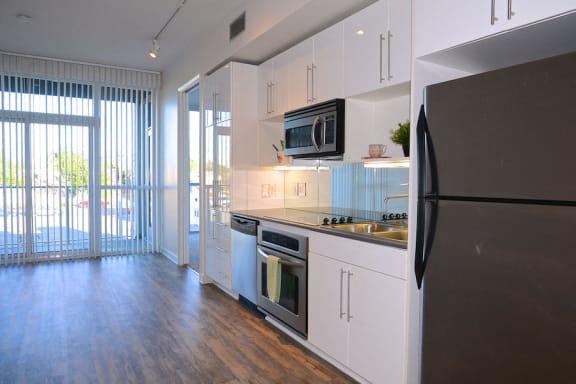 12th Street Lofts Living Area