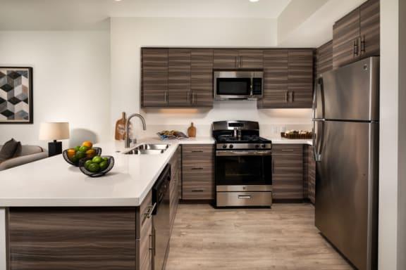 Picasso Apartments Kitchen Area