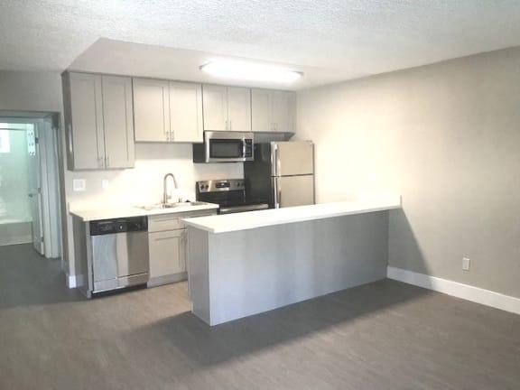 Millennium Apartments kitchen