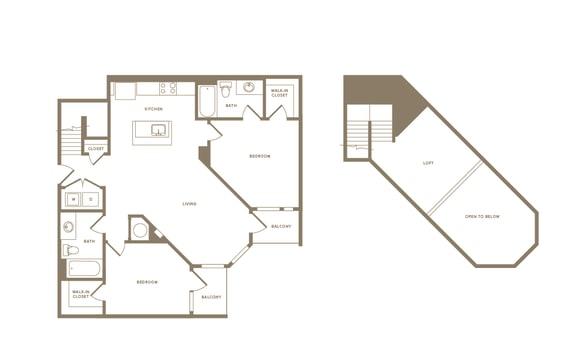 Floor Plan  B3L