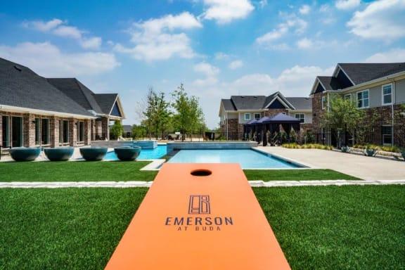 Luxury Apartment Pool in Buda