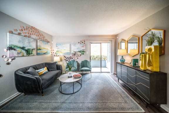 open floor plans in luxury austin apartment