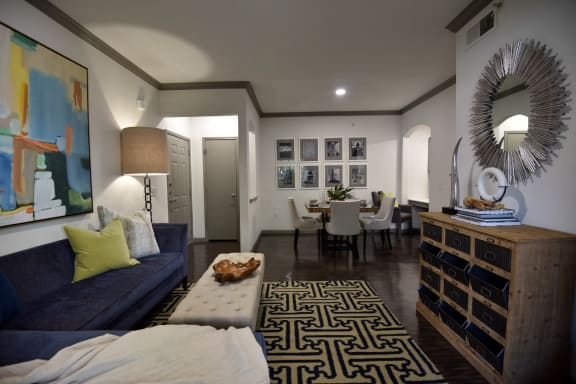 living dining apartments in medical center houston