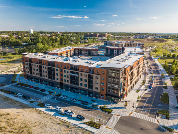 Sky view of building at The Approach at Summit Park, Blue Ash, Ohio