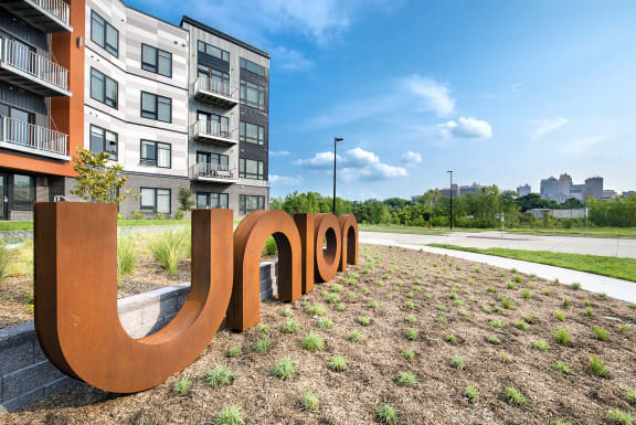 Welcoming Property Signage at Union Berkley, Missouri, 64120