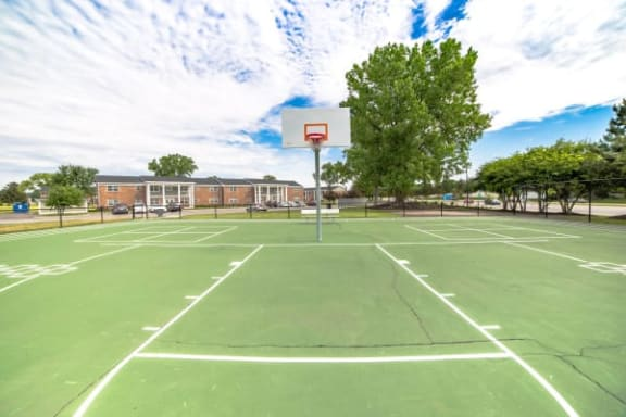 Large Basketball Court at Gramercy, Carmel, IN, 46032