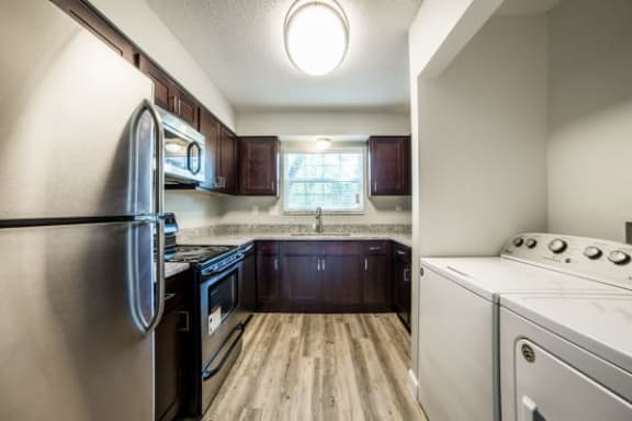 Washer And Dryer In Unit at Gramercy, Carmel, IN, 46032