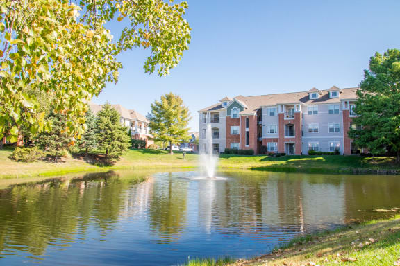 Serene Lakeside View at The Village on Spring Mill, Carmel, 46032