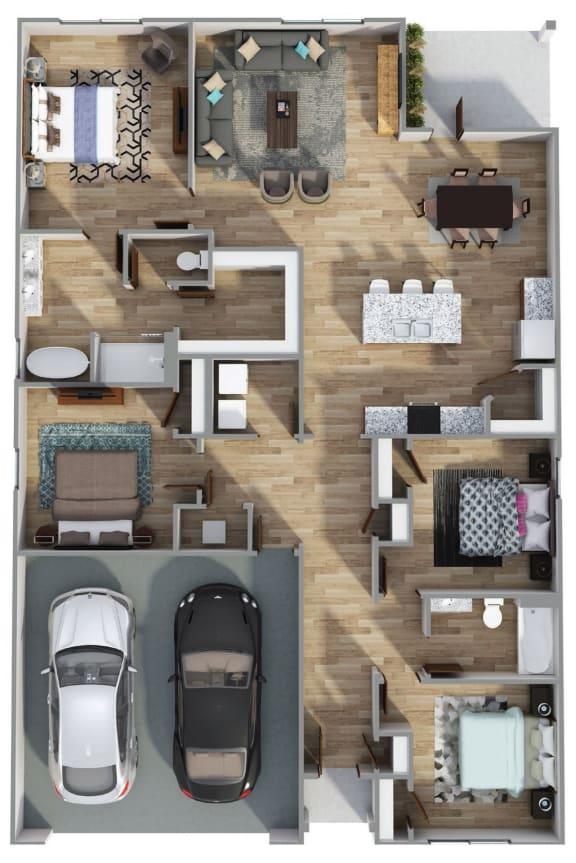 Floor Plan  The Cali