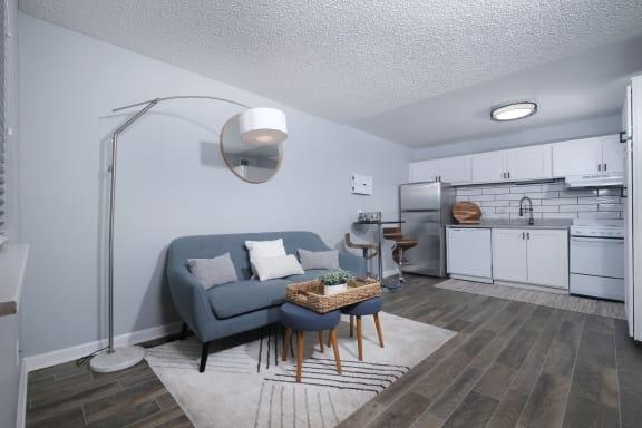 Desert Sands - Living Room and Kitchen