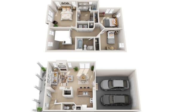 Floor Plan  alder 3d floorplan