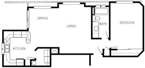 Floor Plan  spruce 2d floorplan