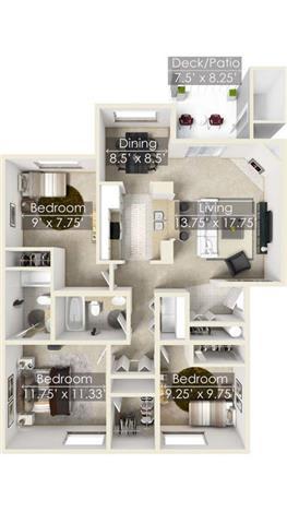 Floor Plan  Chinook Park Chinook floor plan