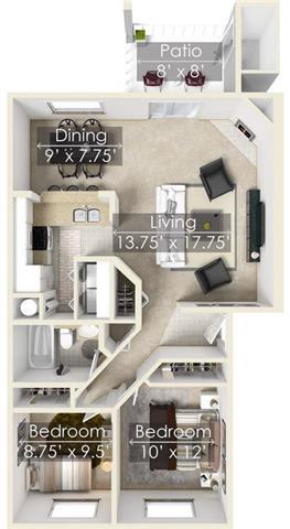 Floor Plan  Chinook Park White River floor plan