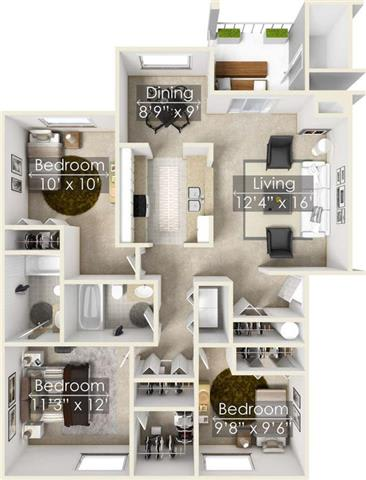 Floor Plan  SANDSTONE