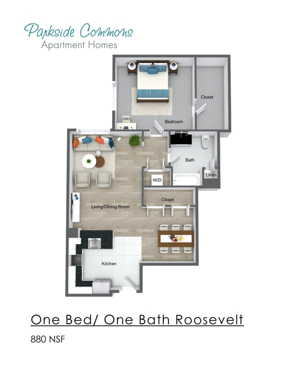 880 SQ FT CHELSEA PLACE