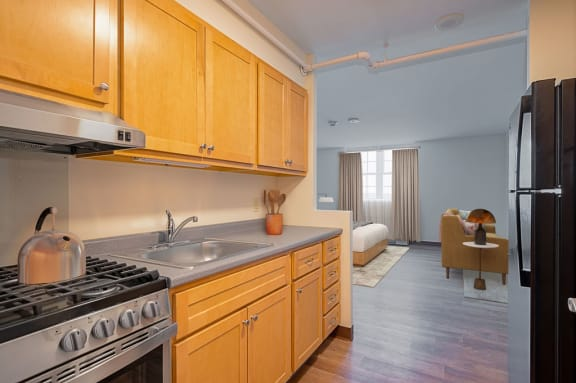 Updated Kitchens with energy efficient appliances