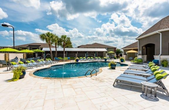Resort Style Pool at Canebrake Apartment Homes, Shreveport, LA, 71115