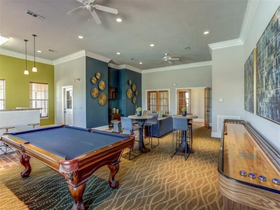 Game Room at The Vineyard of Olive Branch, Olive Branch, Mississippi, 38654