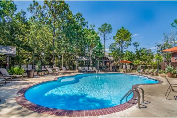 Gorgeous Pool at Lagniappe Of Biloxi Apartment Homes, Biloxi, Mississippi