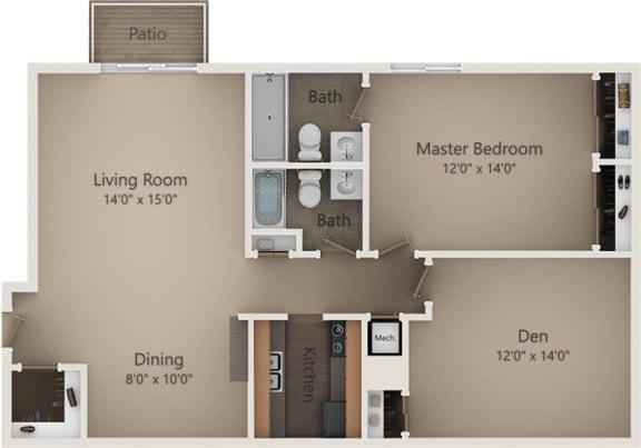 Floor Plan  The Birch II