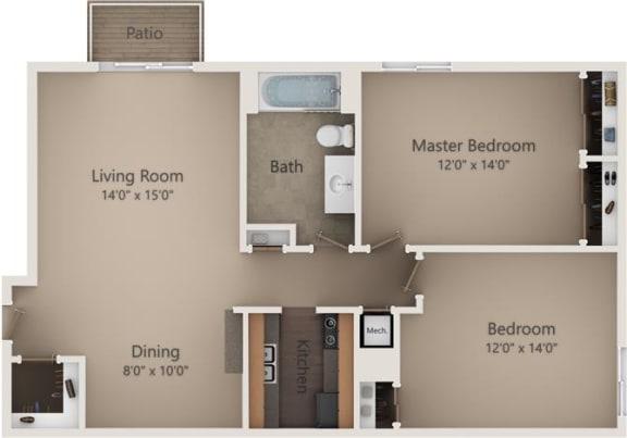 Floor Plan  The Birch III