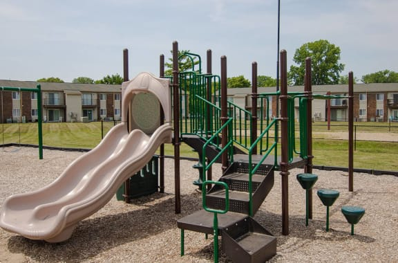 Playground at Pickwick Farms Apartments, Indianapolis, IN 46260