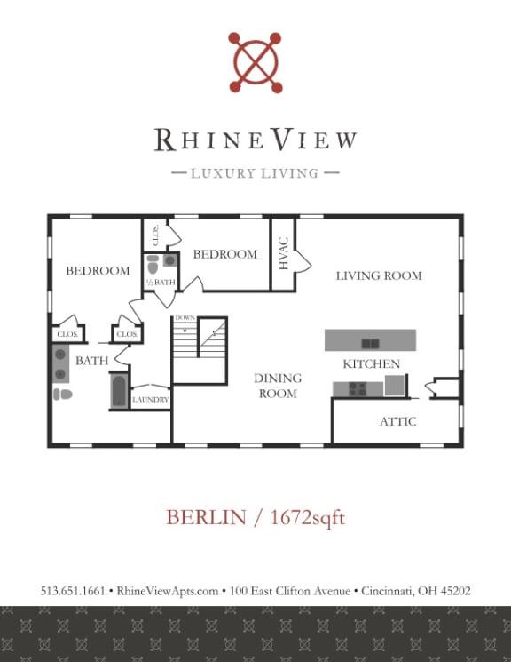 Floor Plan  The Berlin