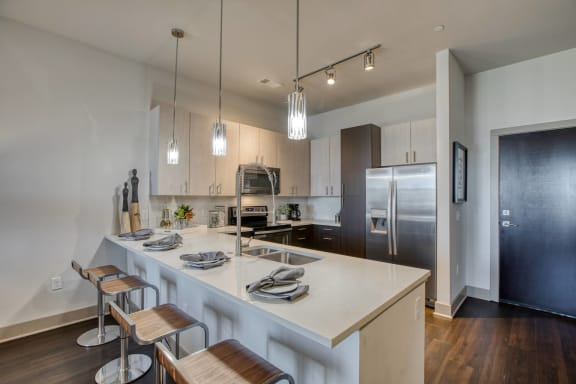 Fully-Equipped Kitchen at Centric LoHi by Windsor, Denver, 80211