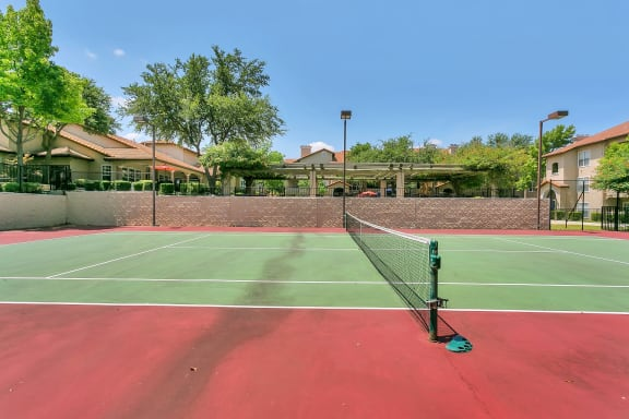 Tennis Court View at Windsor on White Rock Lake, Dallas, 75218