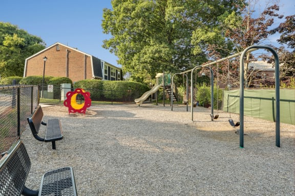 Tot Lot and Playground at Windsor Village at Waltham, Waltham, MA