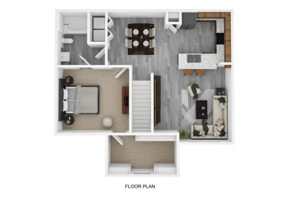 Floor Plan  A4 Floor Plan at The Emerson, Pflugerville