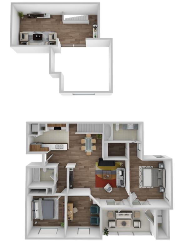 Floor Plan  Cooper With Loft