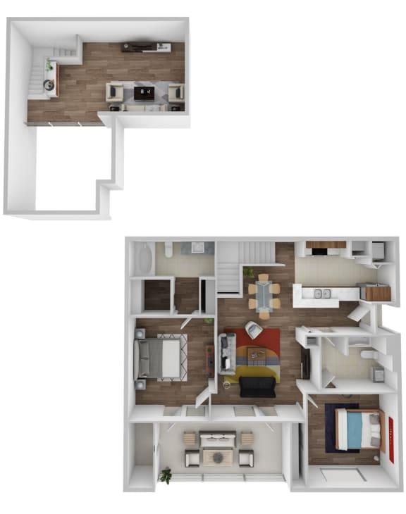 Floor Plan  Cumberland With Loft