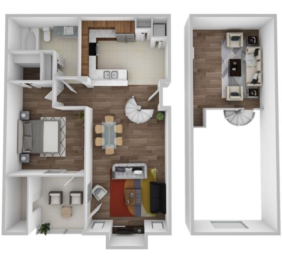 Floor Plan  Madison With Loft