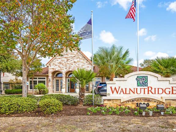 Property Signage at Walnut Ridge, Bastrop, TX