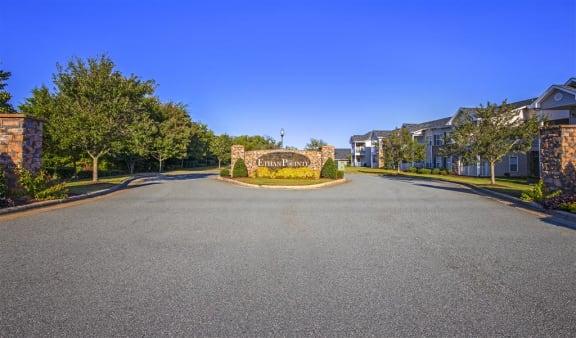 Property Signage at Ethan Pointe Apartments, Burlington, North Carolina