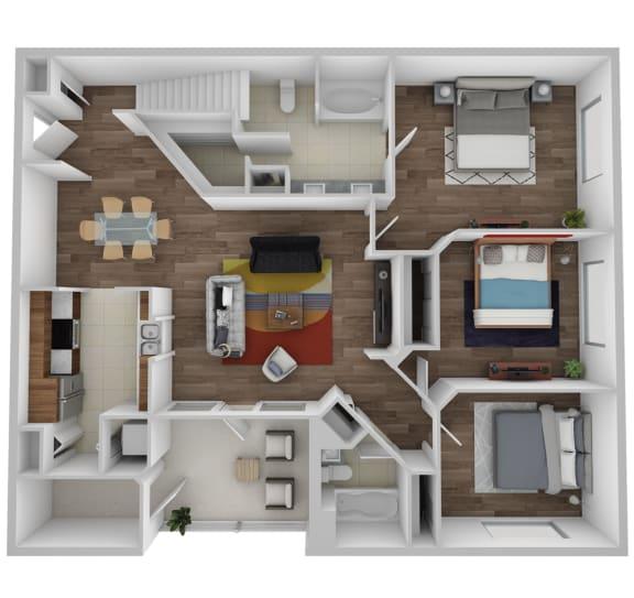 Floor Plan  Savannah