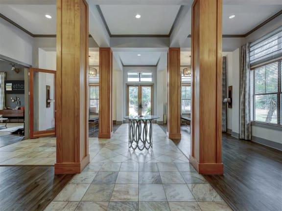 Lobby Area at Ethos Apartments, Austin, TX