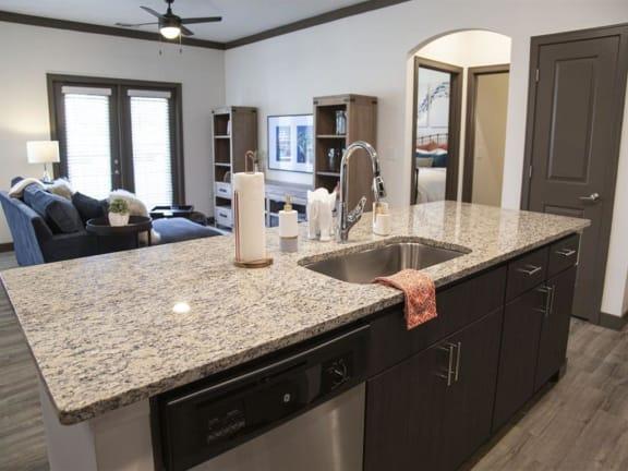 Granite Countertop Kitchen at Century Belmont Station, Louisville