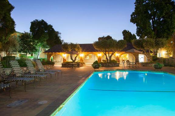 Twilight Pool at The Monterey, San Jose, 95117